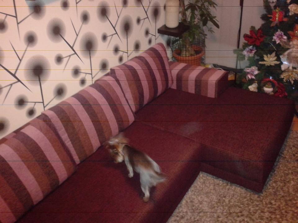 coltar canapea inainte de retapitare