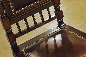 scaun dupa retapitare